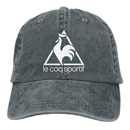 Unisex Le COQ Sportif Logo Hat Adjustable Pigment Dyed Baseball Caps Snapback...