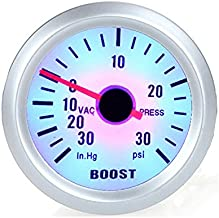 KKmoon Turbo Boost Vacuum Press Gauge Meter for Auto Car 2