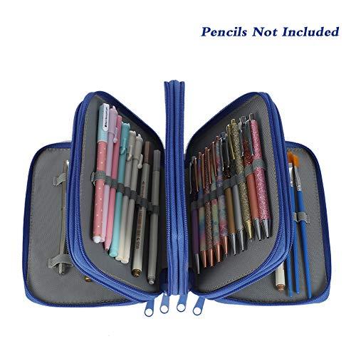FANCYLEO EU - Estuche organizador lápices 72 compartimentos