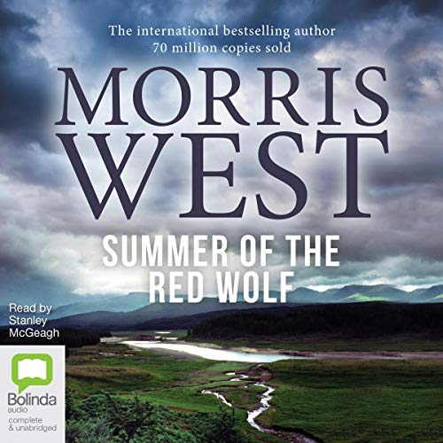 Summer of the Red Wolf audiobook cover art