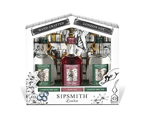 Sipsmith Probierset Gin (3 x 0.05 l)