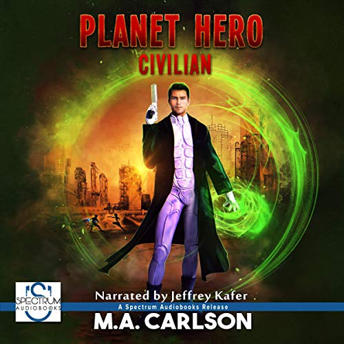 Couverture de Planet Hero: Civilian