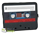 MySleeveDesign Laptoptasche Notebooktasche Sleeve für 10,2 Zoll / 11,6-12,1 Zoll / 13,3 Zoll / 14 Zoll / 15,6 Zoll / 17,3 Zoll - Neopren Schutzhülle mit VERSCH. Designs - Cassette [15]