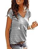 Yidarton Tops, T-Shirts & Blusen für Damen