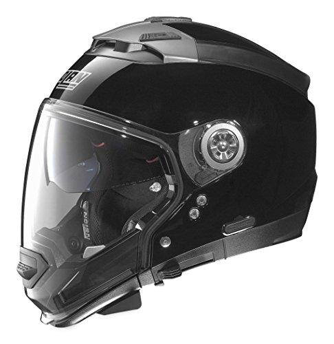 Nolan Unisex Adult N44 EVO Gloss Black Modular Helmet NE45270330031