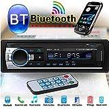 Rainnao Autoradio Bluetooth 4 x 60W Poste Radio Voiture FM Stéréo,Lecteur MP3, Poste Prise en Charge de Carte TF USB Double auxiliaire, Soutien Bluetooth/USB/SD/AUX/EQ / MP3 / TF + Télécommande