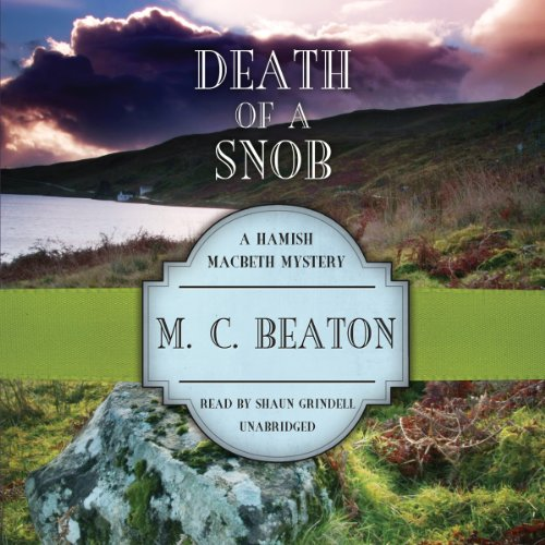 Death of a Snob audiobook cover art
