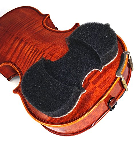 NEW! & Improved 2017 Model -AcoustaGrip 'PRODIGY CHAROAL' Violin Shoulder Rest-Fits 1/8, 1/4, and 1/2 Size Violins and Violas