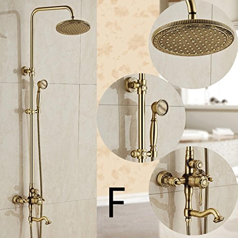 Luxurious shower Badezimmer Badezimmer Badezimmer Messing ...