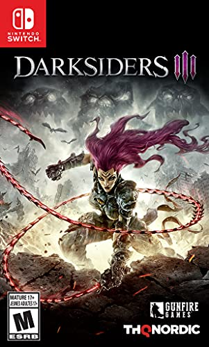 Darksiders III (Switch) pre-order is $39.99  Amazon:  GameStop:  Walm…