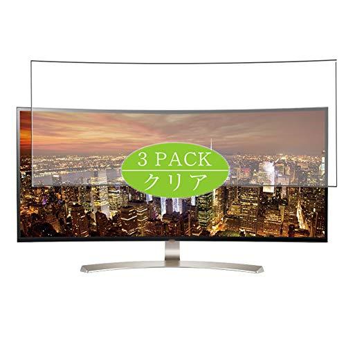 VacFun 3 Piezas HD Claro Protector de Pantalla Compatible con LG 38UC99-W 37.5' Display Monitor, Screen Protector Sin...