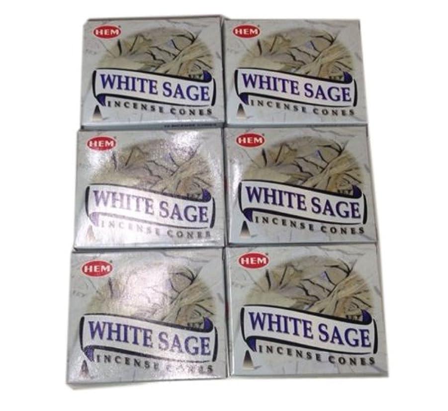 適応する付属品コテージお香コーンタイプ ホワイトセージ 60個入り