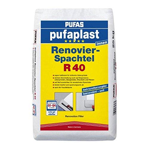 Pufas Pufaplast R 40 Renovier-Spachtel 25,000 KG