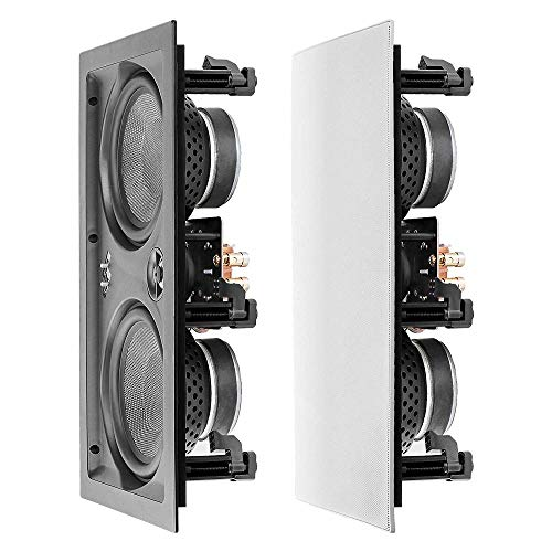 """OSD Audio 6.5"""" Trimless in-Wall LCR Speaker"""