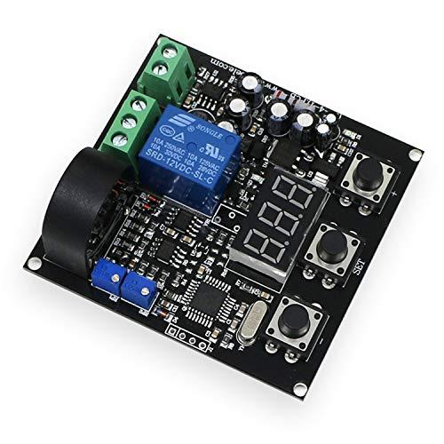 Z-LIANG AC 0-20A Módulo de Sensor de Corriente Salida de Interruptor Rango Completo de retardo de Salida Lineal, Salida de relé (Bundle : 0 to 20A)