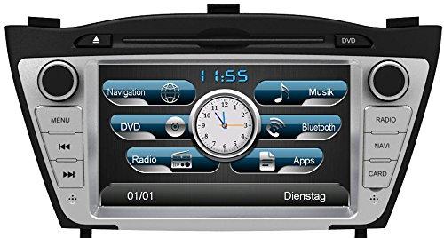 EASINAV Drive Navigationssystem DAB+ für Hyundai iX35 / PKW Software