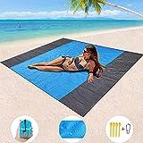Best Beach Mats - Mumu Sugar Sand Free Beach Blanket, Extra Large Review