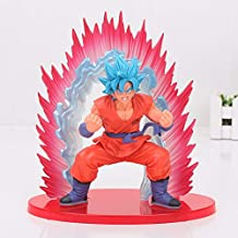 Pvc figure - Box 20cm SSGSS Cho Shin Gi Den Super Saiyan God Son Goku PVC Action Figure Dragon Ball Z Collectible Model Toys Kaioken Blue