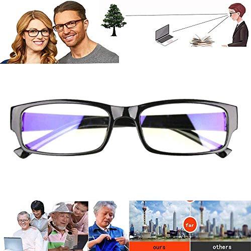 HAJKSDS Vergrößerungsbrillen Zum Lesen, Vision Reading Adjustable Eye Glasses, Clear Focus Auto Adjusting Hd Universal Reading Glasses