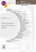 Droit et Economie de la Concurrence - 2006