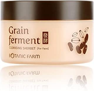 [Botanic Farm] Grain Fermenting Cleansing Sherbet 100ml Korea Cosmetic