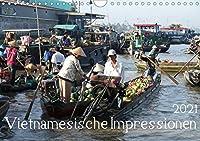 Vietnamesische Impressionen (Wandkalender 2021 DIN A4 quer): Eine Reise durch Vietnam von Hanoi im Norden bis zum Mekong-Delta im Sueden (Monatskalender, 14 Seiten )