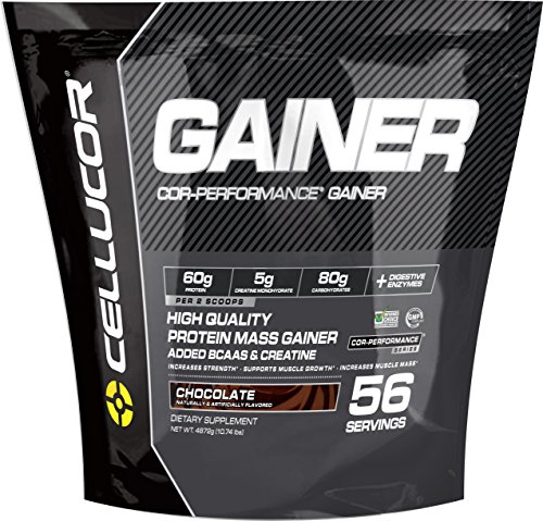 Cellucor Cor-Performance Mass Gainer Protein Powder Supplement, 56 Servings, 10 lbs, Chocolate
