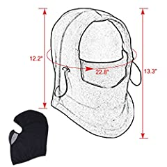 TAGVO Balaclava Face Mask, Breathable Mesh Multipurpose Windproof Motorcycle Cycling Tactical Balaclava Hood Neck Warmer, Fit Helmets for Adults Women and Men Elastic Universal Size #4