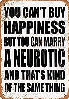 神経症ティンサイン壁鉄絵レトロプラークヴィンテージメタルシート装飾ポスターおかしいポスター吊りクラフトバーガレージカフェの家と結婚することができます