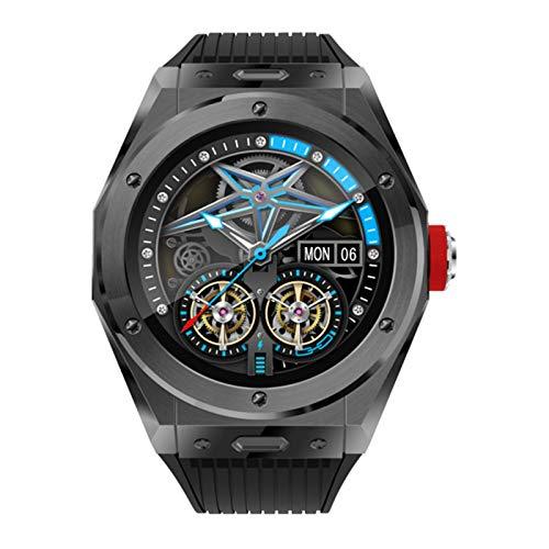 QAK MV58 WASSERDICHTE Smartwatch Herren- Und Damensport Bluetooth 5.0 Musik-Player, Anruf-, Herzfrequenz- Und Blutdruck-Smart-Brazdband Für Android iOS,D