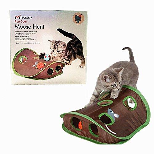 Mixse Mäusejagd-Spielzeug für Katzen
