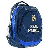 Real Madrid Exclusiv und Ergonomisch Rucksack Schulrucksack Tasche 45x31x16cm Edel 2018