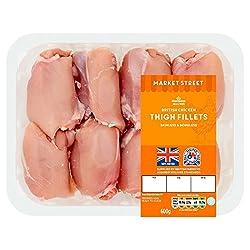 Morrisons Market Street British Chicken Thigh Fillets, 600g
