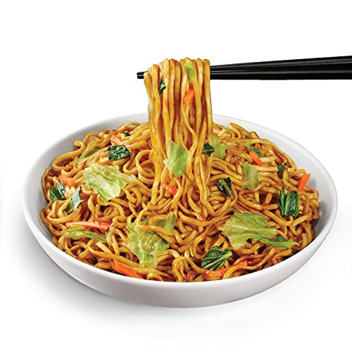 Nissin Chow Mein, Teriyaki Beef, 4 Ounce (Pack of 8)