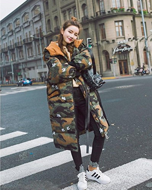 Xuanku In Der Langen Absatz Camouflage Baumwolle Frauen Winter Winter Winter Fett Plus Große Werften Baumwolle Dicke Baumwolle Mantel B076PD4NZ8  Große Klassifizierung 3c2ff2