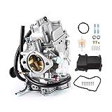 Carburador de motocicleta ATV, carburador de motocicleta Carb Carburetor ATV Accesorio apto para YAMAHA WARRIOR 350 YFM350 1999‑2004
