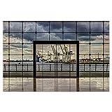 artboxONE Poster 75x50 cm Architektur Das Tor zur Welt