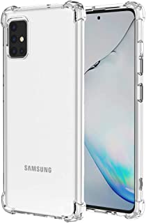 Starhemei for Galaxy A51 Case, Shock-Resistant Flexible TPU Gasbag Protection Rubber Soft Silicone Anti Dropping Phone Cas...