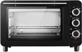 Toaster oven STBD-Mini Horno doméstico, Capacidad 15L, con lámpara de Horno y Bandeja de escoria separada, Banco de Cocina, pequeño Horno eléctrico, Utensilios para Hornear, Negro