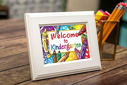 Teacher Created Resources Welcome to Kindergarten Postcards (4860),Multi Photo #5