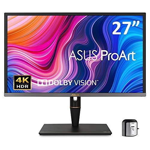 ASUS 27インチ クリエイター向けモニター ProArt PA27UCX-K (3年間無輝点交換保証/IPS/4K HDR/Calman Read...