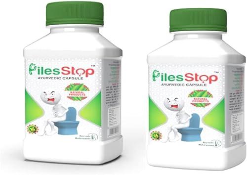 Piles Stop Ayurvedic Medicine for Piles Bavasir Relief 120 Tabs with ayurvedic herbs like Peepal Giloy Aanwla Devdaar