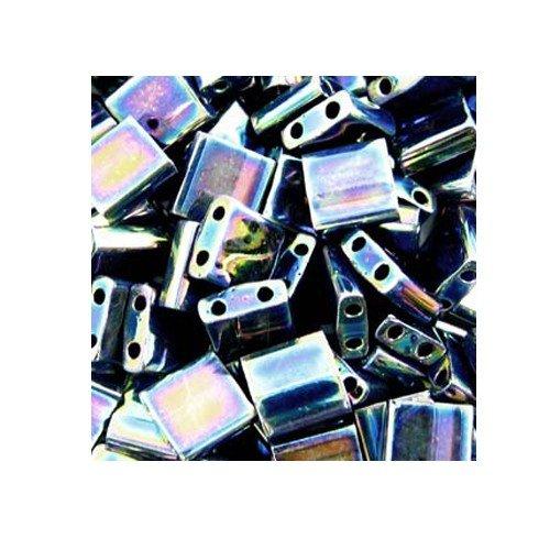 Miyuki Tila Beads TL455 Blue Iris Qty 5 grams