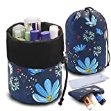 UYRIE Portable Makeup Toiletry Cosmetic Travel Organizer Bag, Large...