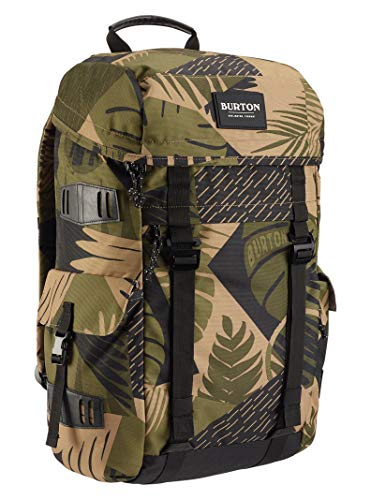 Burton Annex Backpack, Martini Olive Woodcut Palm, One Size