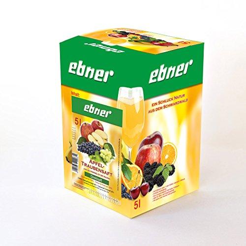 Ebner Apfel-Traubensaft Direktsaft 5 Liter Bag-in-Box