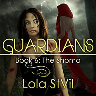 Guardians: The Shoma audiobook cover art