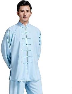 Mr. Hao Tai Chi strój Zen Medytacja Kostium Klasyczny chiński Styl Jednolity kolor Kung Fu Odzież Tang Kostium Nie blaknie...