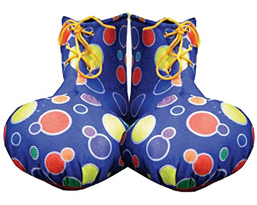 Dress up America - Fundas de zapatos para payaso azul para niños