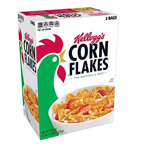 Kellogg's Corn Flakes, 43-Ounce Unit by Kellogg's
